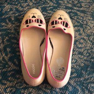 Super cute care slip on shoes size 8.5 women